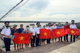 Cảnh sát biển Việt Nam phấn đấu ngang tầm nhiệm vụ