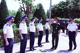 BTL Vùng Cảnh sát biển 3 gắn công tác phòng chống dịch với nhiệm vụ sẵn sàng chiến đấu