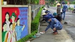 BTL Vùng Cảnh sát biển 1 giúp dân xây dựng nông thôn mới tại Hà Tĩnh