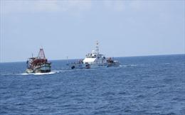 BTL Vùng Cảnh sát biển 4 tổ chức rút kinh nghiệm công tác phòng chống IUU