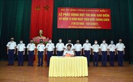 BTL Vùng Cảnh sát biển 1 phát động đợt thi đua cao điểm chào mừng Ngày toàn quốc kháng chiến
