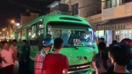 Va chạm giao thông, phụ xe buýt dùng hung khí truy đuổi người đi xe máy