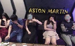Đột kích quán karaoke phát hiện nhiều nam nữ phê ma túy