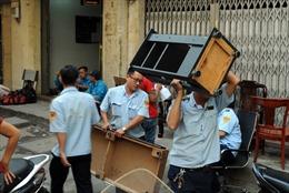 Đã di dời được 20 hộ dân ra khỏi chung cư bị nghiêng, lún ở TP Hồ Chí Minh