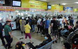Còn nhiều vé tàu, xe khách phục vụ người dân về quê ăn Tết