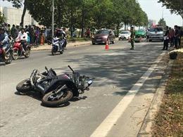 Va chạm xe cùng chiều, thanh niên chạy mô tô phân khối lớn tử vong tại chỗ