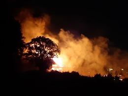 Cháy lớn nhà xưởng ở quận 12, TP Hồ Chí Minh