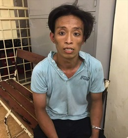Đặc nhiệm bắt 'nóng' tên cướp giật ở trung tâm TP Hồ Chí Minh