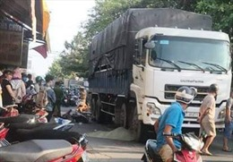 Va chạm giao thông, nam thanh niên tử vong dưới bánh xe tải