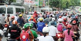 Người dân ùn ùn rời TP Hồ Chí Minh về quê nghỉ lễ Quốc khánh 2/9