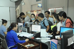 Ga Sài Gòn nhận đăng ký mua vé tàu Tết theo đoàn