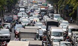 Kẹt xe nghiêm trọng khu vực cửa ngõ sân bay Tân Sơn Nhất