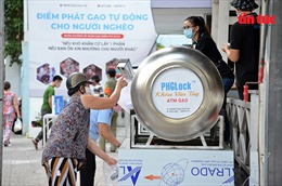 'ATM gạo' tái hoạt động hỗ trợ người dân trong khu cách ly ở TP Hồ Chí Minh