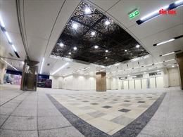 Khám phá không gian hiện đại của nhà ga metro ngầm Nhà hát Thành phố Hồ Chí Minh