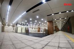 Sẽhoàn thành đổ bê tông sàn ga ngầm Bến Thành – tuyến metro số 1 trong năm 2020