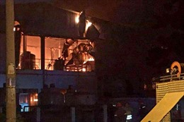 Cháy lớn công ty trong Khu chế xuất Tân Thuận TP Hồ Chí Minh