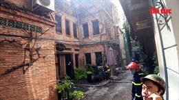 Cháy tiệm spa Hoa Bằng Lăng tại TP Hồ Chí Minh
