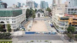 TP Hồ Chí Minh: Bàn giao mặt bằng công viên Lam Sơn sớm hơn tiến độ 17 ngày