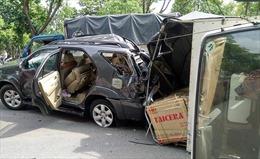 TP Hồ Chí Minh: 4 xe ô tô đâm liên hoàn