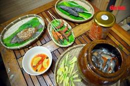 'Đã mắt' ẩm thực miền Tây Nam Bộ... từ đất sét