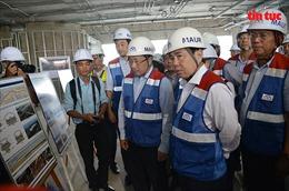 Phó Thủ tướng Phạm Bình Minh thị sát tuyến metro Bến Thành-Suối Tiên