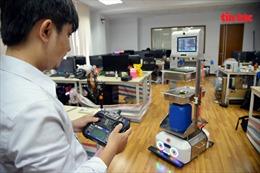 Sáng chế robot hỗ trợ cho đội ngũ y, bác sĩ ở tuyến đầu chống dịch COVID-19
