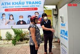 Ngày 6/8, 'ATM khẩu trang' miễn phí tại TP Hồ Chí Minh đã bắt đầu hoạt động