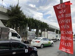 TP Hồ Chí Minh cấm các loại xe qua cầu vượt Nguyễn Hữu Cảnh
