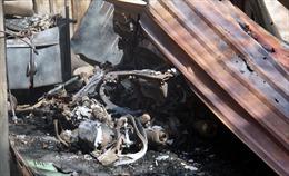 Hỏa hoạn thiêu rụi hơn 10 căn nhà trọ và nhà dân ở quận 9, TP Hồ Chí Minh