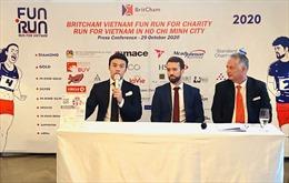 Chạy bộ gây quỹ từ thiện BritCham Fun Run lần thứ 20 tại TP Hồ Chí Minh