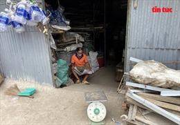 Nâng đường Nguyễn Hữu Cảnh, nhiều nhà dân thành 'hầm'