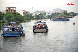 Kết thúc sứ mệnh phà An Phú Đông qua sông Vàm Thuật