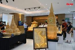 Nhiều công trình nổi tiếng bằng tăm được trao kỷ lục thế giới