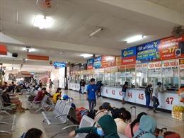 Bến xe, nhà ga và các cửa ngõ TP Hồ Chí Minh thông thoáng ngày 28 Tết