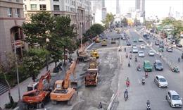 Hai công trình giao thông trọng điểm tại TP Hồ Chí Minh vẫn được làm xuyên Tết