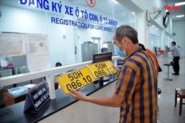TP Hồ Chí Minh còn 142.000 ô tô chưa đổi sang biển số vàng