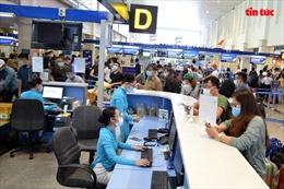 Sân bay Tân Sơn Nhất vẫn hoạt động bình thường sau ca mắc COVID-19