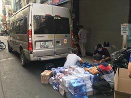 Công an TP Hồ Chí Minh bắt giữ ô tô chở 5.000 bao thuốc lá lậu