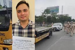 Khởi tố, bắt tạm giam Lê Chí Thành về hành vi chống người thi hành công vụ
