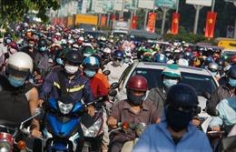 Ngày đầu đi làm sau nghỉ lễ, đường TP Hồ Chí Minh ùn tắc trở lại
