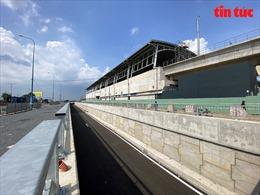Hầm chui 75 tỷ đồng trước bến xe Miền Đông mới sắp được thông xe