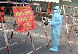 Hình ảnh ngày đầu thực hiện Chỉ thị 16 tại 3 khu phố của quận Bình Tân