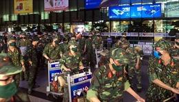 293 quân nhân Học viện Quân y đã đến TP Hồ Chí Minh để cùng tham gia chống dịch