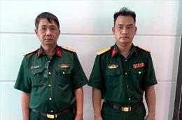 TP Hồ Chí Minh: Bắt hai đối tượng giả mạo cán bộ sĩ quan cao cấp Quân đội
