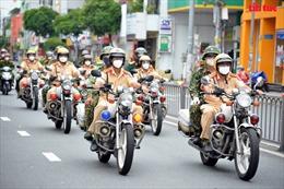 Công an TP Hồ Chí Minh ra quân đảm bảo an ninh trật tự