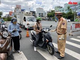 Công an TP Hồ Chí Minh lập biên bản xử lý hơn 5.000 trường hợp trong 18 ngày giãn cách xã hội
