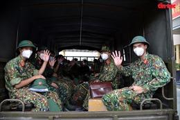 TP Hồ Chí Minh tri ân, chia tay các lực lượng quân đội sau nhiều tháng hỗ trợ chống dịch