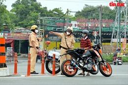 TP Hồ Chí Minh tăng cường xử lý vi phạm giao thông sau khi nới lỏng giãn cách xã hội
