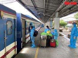 Đưa gần 1.000 người dân tỉnh Tuyên Quang và Ninh Bình từ phía Nam về quê