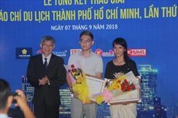 19 tác phẩm xuất sắc đoạt giải báo chí Du lịch TP Hồ Chí Minh 2018